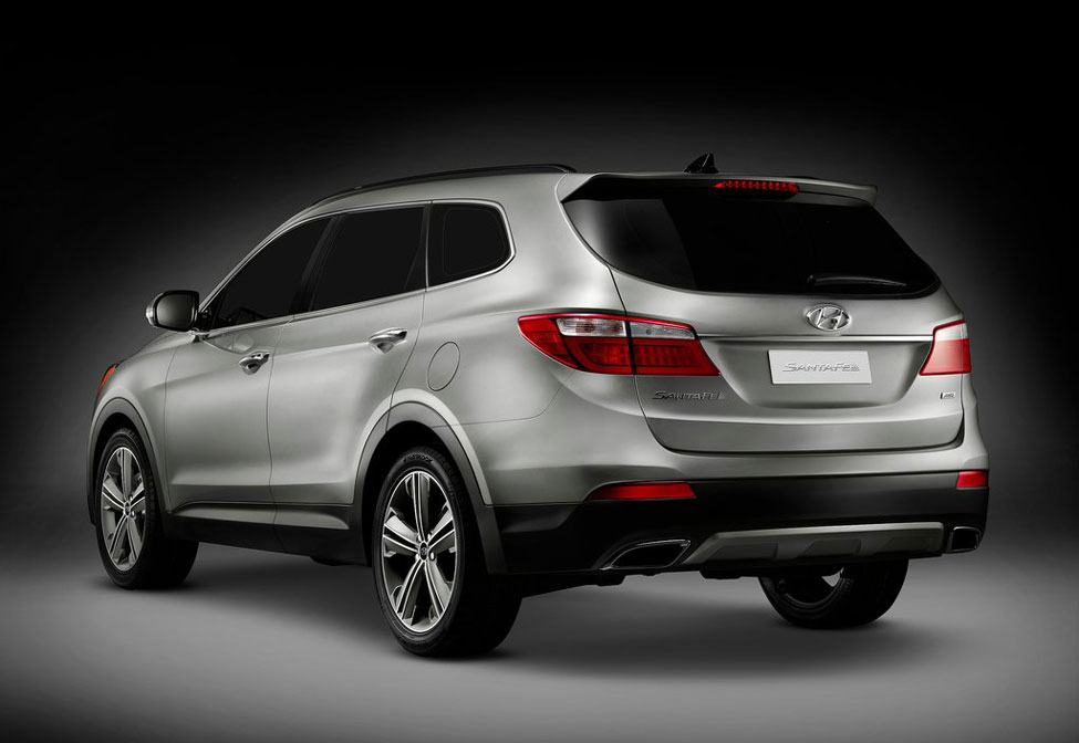 2012 hyundai santa fe review specs pictures price mpg. Black Bedroom Furniture Sets. Home Design Ideas