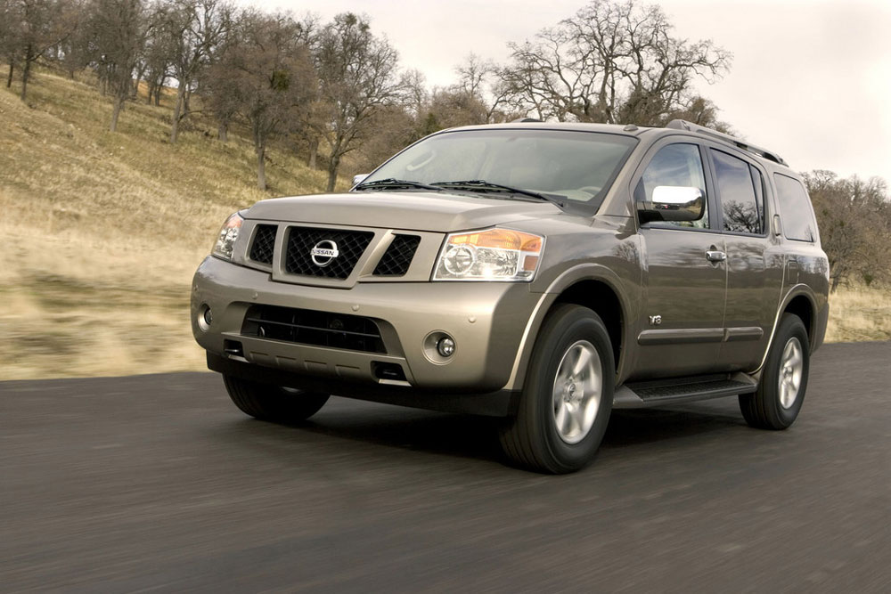 2012 nissan armada review specs pictures price mpg. Black Bedroom Furniture Sets. Home Design Ideas