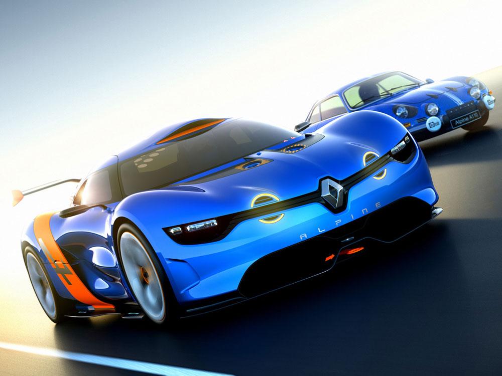 2012 Renault Alpine A110-50 Concept Review, Specs & Pictures