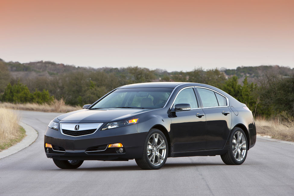 2012 acura tl review specs pictures price mpg. Black Bedroom Furniture Sets. Home Design Ideas