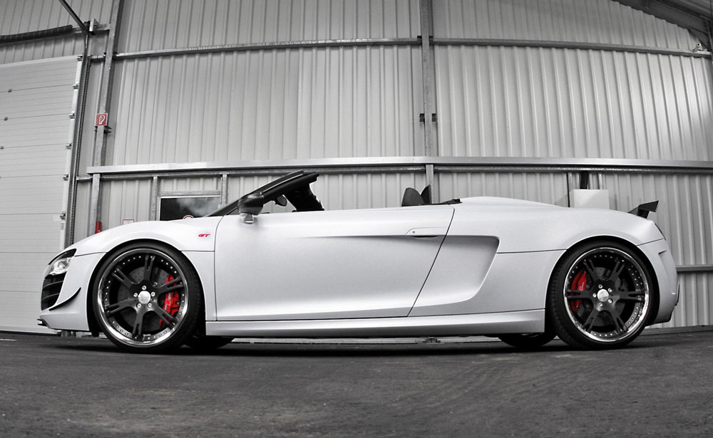 Wheelsandmore Audi R Spyder GT Triad Bianco Review Pictures - Cheap sporty looking cars