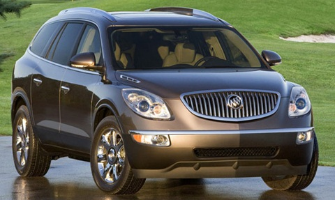 2012 buick enclave review specs pictures price mpg. Black Bedroom Furniture Sets. Home Design Ideas