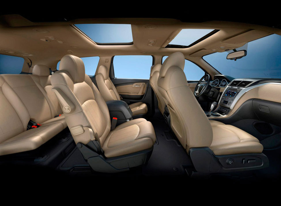 2012 Chevrolet Traverse Review, Specs, Pictures, Price & MPG