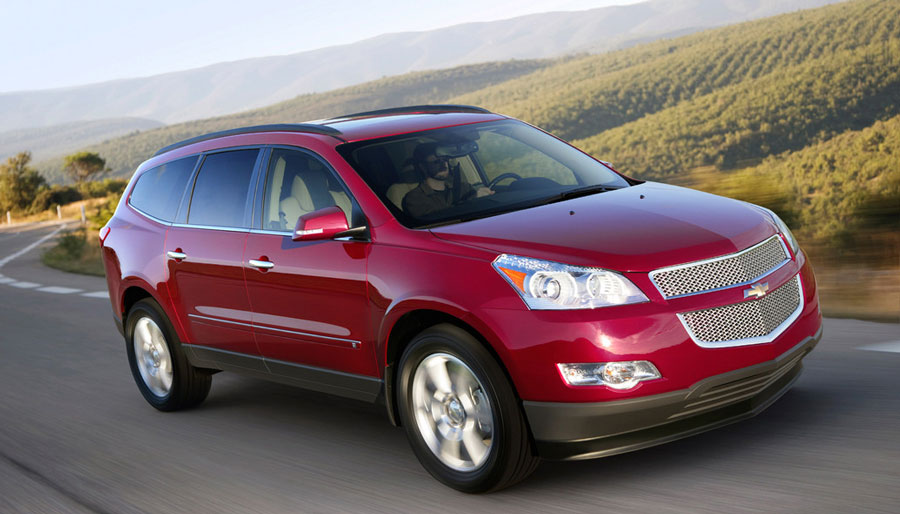 2012 chevrolet traverse review specs pictures price mpg. Black Bedroom Furniture Sets. Home Design Ideas