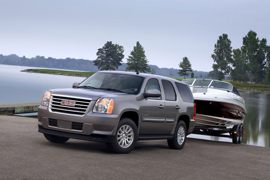2012 gmc yukon hybrid review specs pictures price mpg. Black Bedroom Furniture Sets. Home Design Ideas