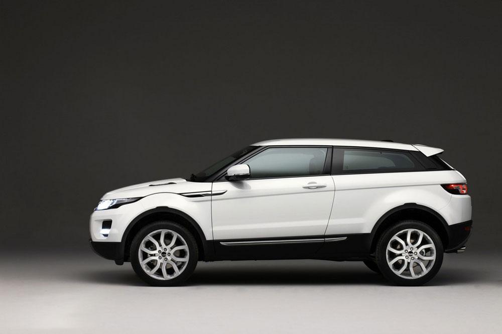 Range Rover Evoque Baltic Blue Interior