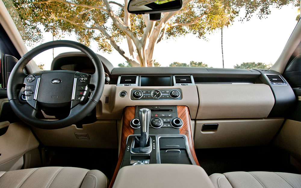 2012 Land Rover Range Rover Sport Review Pictures Mpg