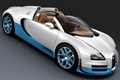 2012 Bugatti Veyron Grand Sport Vitesse Bianco and New Light Blue