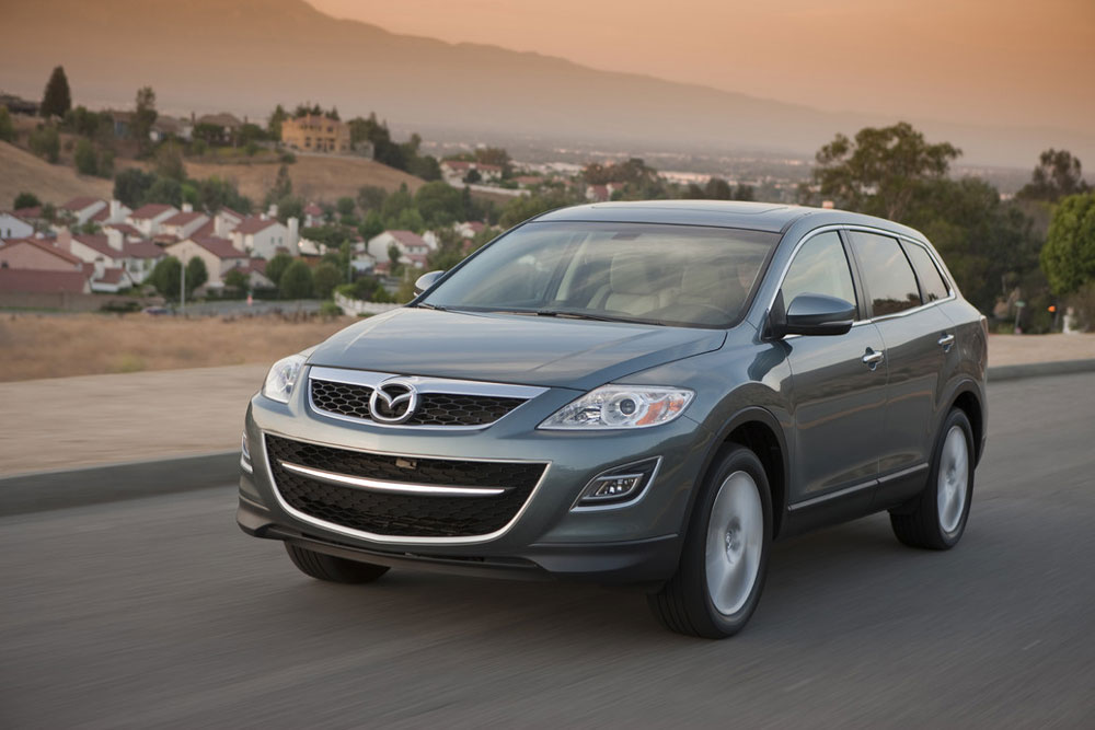 2012 mazda cx 9 review specs pictures mpg price. Black Bedroom Furniture Sets. Home Design Ideas