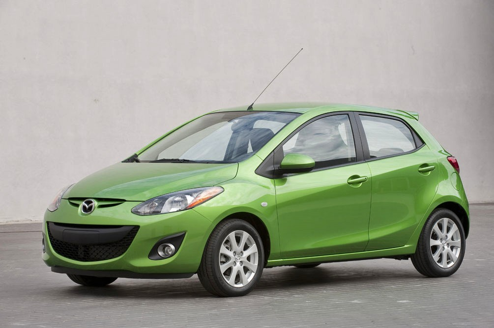 2012 mazda2 review specs pictures mpg price. Black Bedroom Furniture Sets. Home Design Ideas