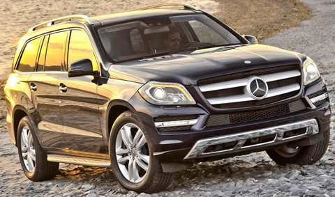 2012 mercedes benz gl class review specs pictures mpg for Mercedes benz suv gl450