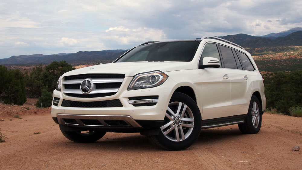 2012 mercedes benz gl class review specs pictures mpg for Mercedes benz gl class luxury suv