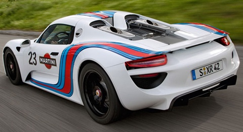 2012 porsche 918 spyder martini racing prototype review. Black Bedroom Furniture Sets. Home Design Ideas