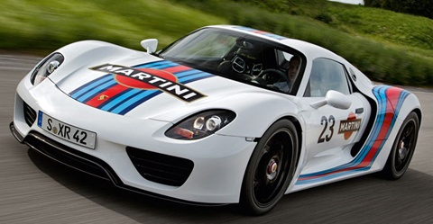 2012 porsche 918 spyder martini racing prototype review 0 60 time. Black Bedroom Furniture Sets. Home Design Ideas