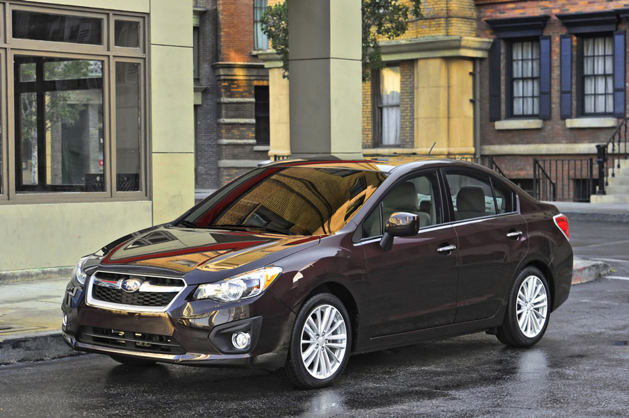 2012 subaru impreza review specs pictures mpg price. Black Bedroom Furniture Sets. Home Design Ideas