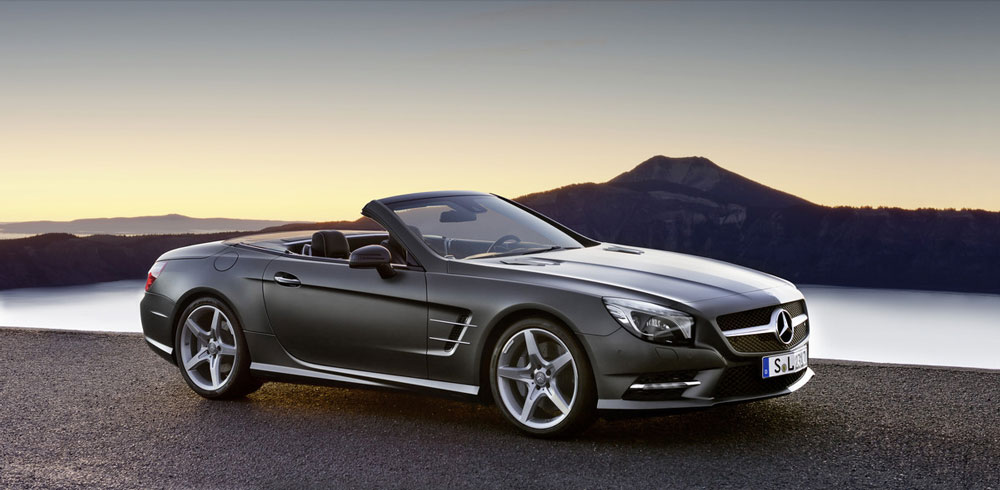 2012 mercedes benz sl roadster review specs pictures for Mercedes benz 530 sl price