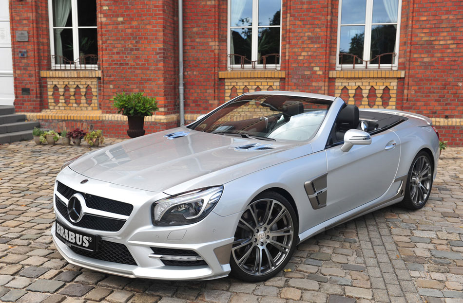 2012 brabus mercedes benz sl roadster review specs pictures. Black Bedroom Furniture Sets. Home Design Ideas