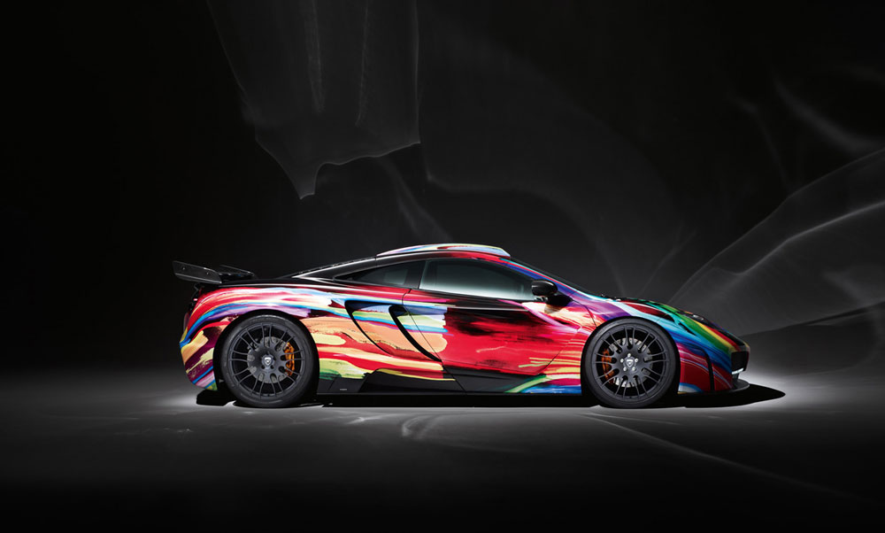 Hamann mclaren mp4 12c memor art car under the spotlight b