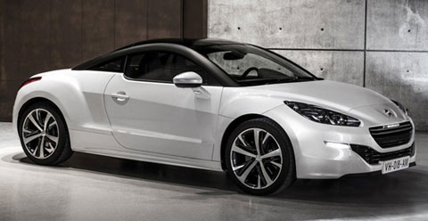 2013 peugeot rcz sports coupe review specs pictures. Black Bedroom Furniture Sets. Home Design Ideas