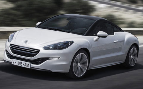 best car 2013 peugeot rcz sports coupe. Black Bedroom Furniture Sets. Home Design Ideas