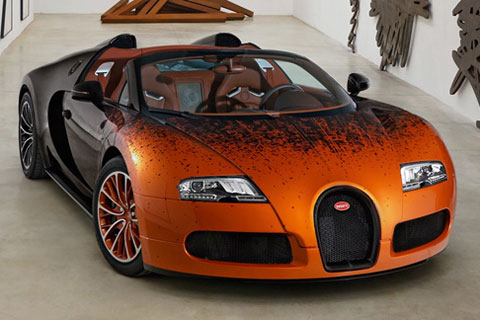Bugatti-Veyron-Grand-Sport-by-Bernar-Venet-private-display-A