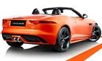 Jaguar-F-Type-Firesand-from-the-rear cc