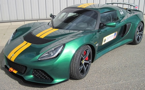 Lotus-Exige-V6-Cup-in-green B