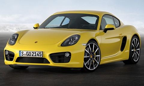 Porsche-Cayman-duet A