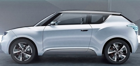 SsangYong-e-XIV-Concept-from-the-side A