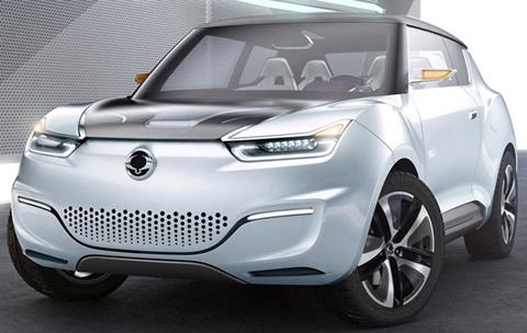 SsangYong-e-XIV-Concept-profile B