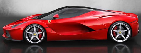 2013-Ferrari-LaFerrari-classic-lines B