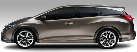 2013-Honda-Civic-Tourer-Concept-from-the-side B