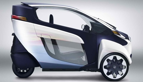 2013-Toyota-i-Road-Concept-parked B