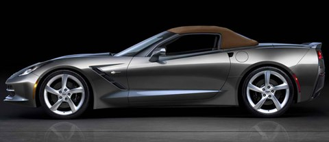 2014-Chevrolet-Corvette-Stingray-Convertible-top-up D