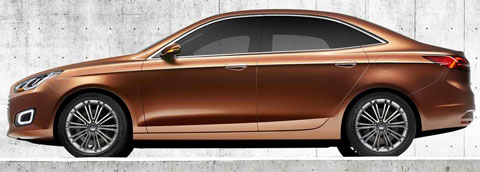 2013-Ford-Escort-Concept-profile-B