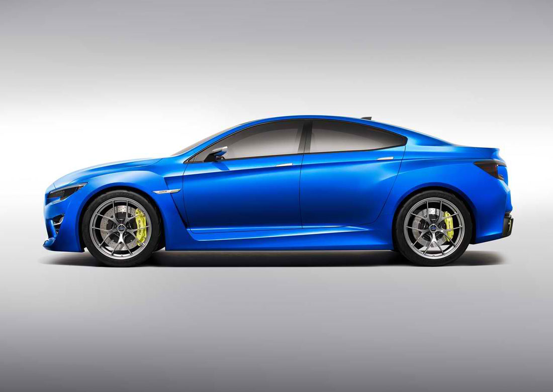 2013 Subaru WRX Concept Review, Specs & Pictures