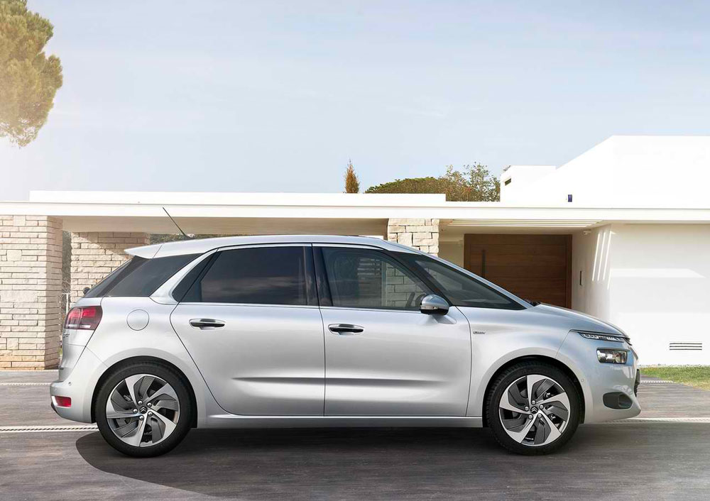 2014 citroen c4 picasso review specs pictures mpg price. Black Bedroom Furniture Sets. Home Design Ideas