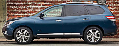 2014 nissan pathfinder hybrid review specs pictures mpg. Black Bedroom Furniture Sets. Home Design Ideas