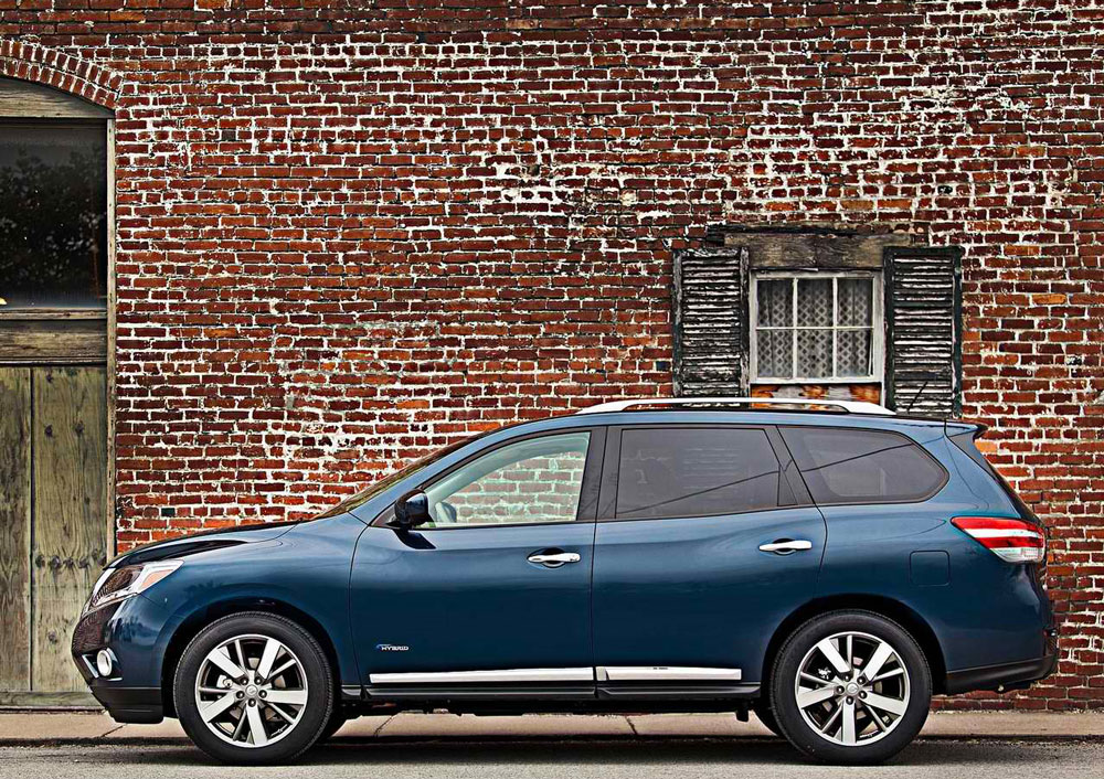 2014 nissan pathfinder hybrid cars today