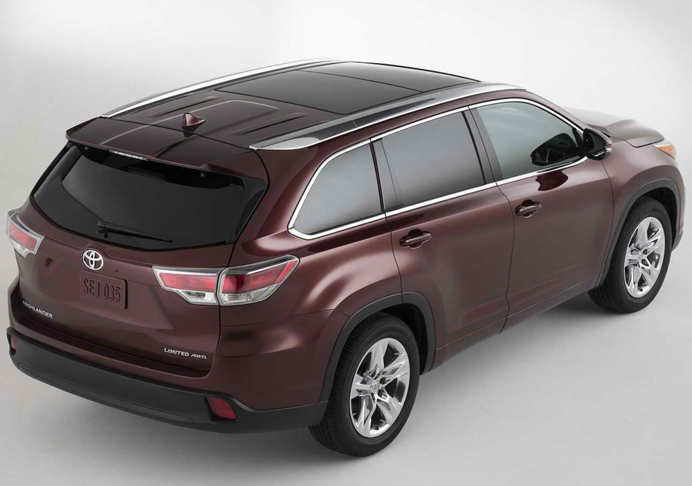2014 toyota highlander review specs pictures mpg price. Black Bedroom Furniture Sets. Home Design Ideas