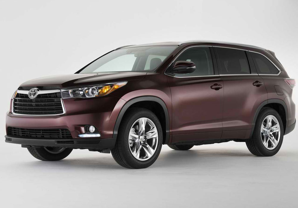 2014-Toyota-Highlander-profile-A