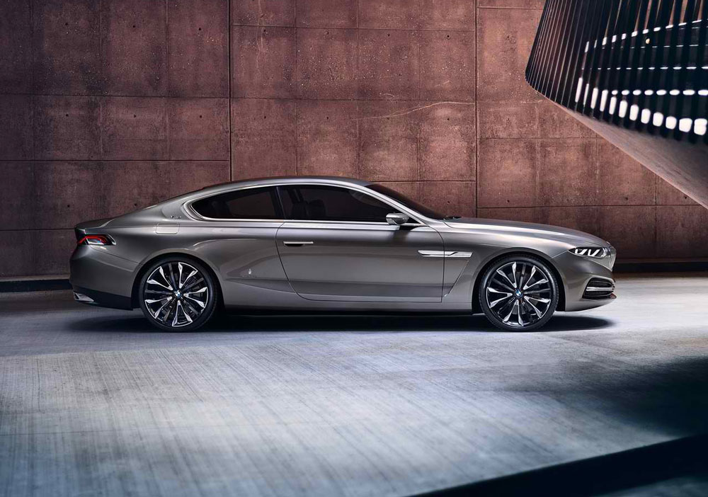 2013 bmw pininfarina gran lusso coupe concept review pictures. Black Bedroom Furniture Sets. Home Design Ideas