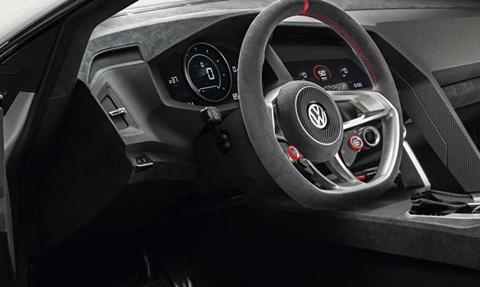 2013-Volkswagen-Design-Vision-GTI-Concept-driver-side D