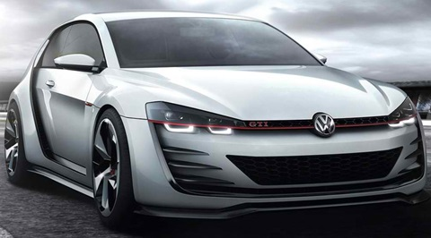 volkswagen design vision gti concept review    time