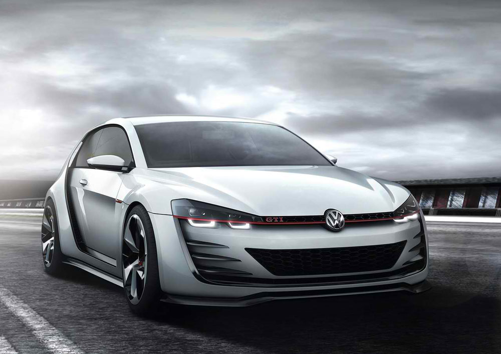 2013 volkswagen design vision gti concept review 0 to 60 time. Black Bedroom Furniture Sets. Home Design Ideas