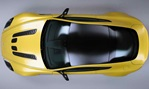 2014-Aston-Martin-V12-Vantage-S-from-above-in-studio 3