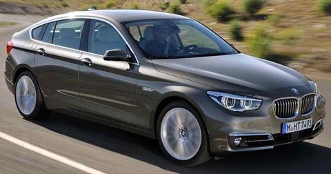 2014-BMW-5-Series-Gran-Turismo-profile A