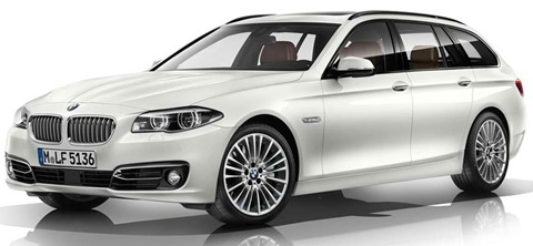 2014-BMW-5-Series-Touring-in-white A