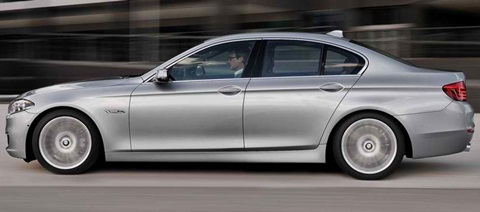 2014-BMW-5-Series_A-just-left-work B