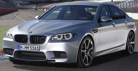 2014-BMW-M5-on-the-track A
